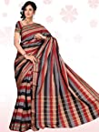 Cotton Lining Prints Border - Saree
