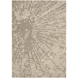 Safavieh BEL656A Bella Collection Handmade Wool Area Rug, 8-Feet by 10-Feet, Winter Taupe