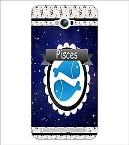 PrintDhaba Zodiac Pisces D-2771 Back Case Cover for ASUS ZENFONE MAX ZC550KL (2016) (Multi-Coloured)