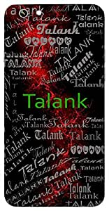 Talank (Lord Shiva) Name & Sign Printed All over customize & Personalized!! Protective back cover for your Smart Phone : Samsung Galaxy A-7