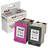 LD © Remanufactured Replacements for Hewlett Packard (HP 61XL) Set of 2 High Yield Ink Cartridges Includes: 1 CH563WN Black, and 1 CH564WN Color for use in HP Deskjet 1000, 1010, 1050, 1051, 1055, 1056, 2050, 2510, 2512, 2514, 2540, 2542, 3000, 3050, 3050A, 3051A, 3052A, 3054, 3056A, 3510, 3511, 3512, 3516 & ENVY 4500, 4504, 5530, 5531 & Officejet 4630, 4632, 4635 Printers ~ LD Products
