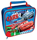 Disney Cars 2 Lightning Mcqueen and Finn McMissile Lunch Box Bag - 21cm x 25cm x 8cm (Approx) Great Gift Idea