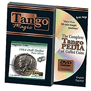 MMS Magnetic Coin Half Dollar 1964 (with DVD) (D0137) by Tango - Tricks