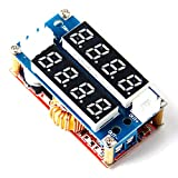 Amazon.co.jp5A 調整可能 CC/CV Step-down Module LEDドライバ電圧計電流計