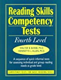 img - for Reading Skills Competency Tests: Fourth Level (J-B Ed: Ready-to-Use Activities) book / textbook / text book