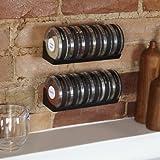 Umbra Cylindra Spice Rack, BlackGY#583-4 6-DFG281548