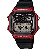 Casio Men's AE1300WH-4AV Casio Classic Digital Referee Timer Watch