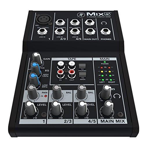 MACKIE Mackie 超模拟调音台 MIX5 国内定期