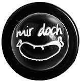 Kochjackenknöpfe Kugelknöpfe WURST Farbe: schwarz