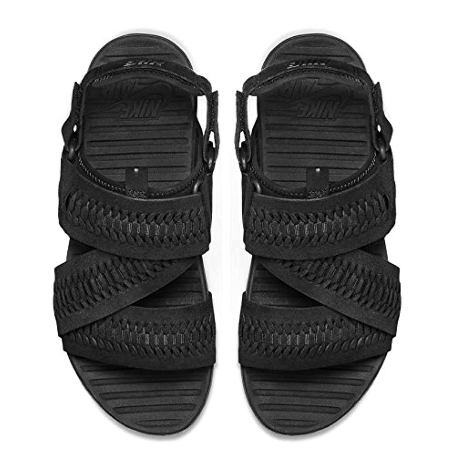 34620f465930 ... Nike NikeLab Air Solarsoft Zigzag WVN SP ACG 776444-001 Black Woven  Sandals Size 9 ...