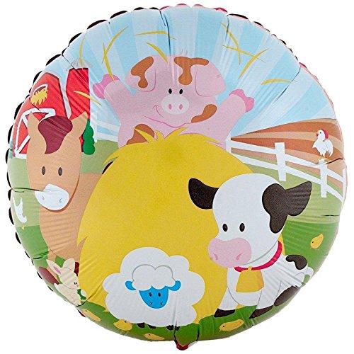 """Barnyard 18"""" Foil Balloon"""
