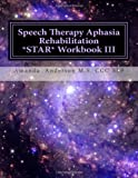 Speech Therapy Aphasia Rehabilitation Star: Expressive Language