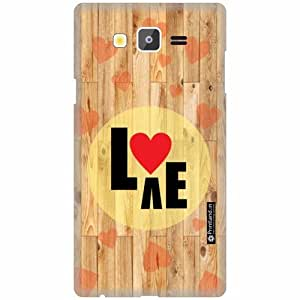 Printland Designer Back Cover for Samsung Galaxy On7 - Love Case Cover