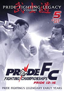 Pride Fighting Championships - Pride 12-16 - Volume 3 - 5 Event Set