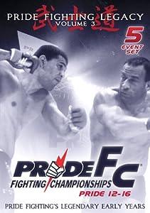 Pride Fighting Championships - Pride 12-16 - Volume 3 - 5 Event Set