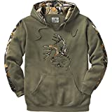 Legendary Whitetails Mens Outfitter Hoodie Army Large