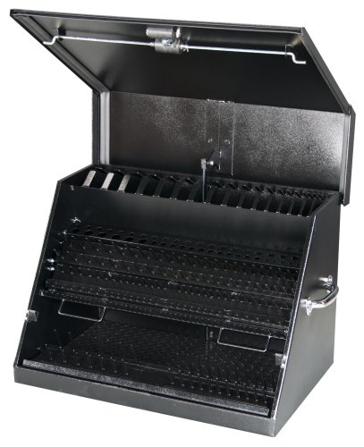Montezuma LA400B Steel Black Portable Tool Box