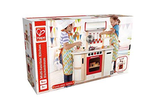 Hape E8018 Cucina Con Carrello Multicolore