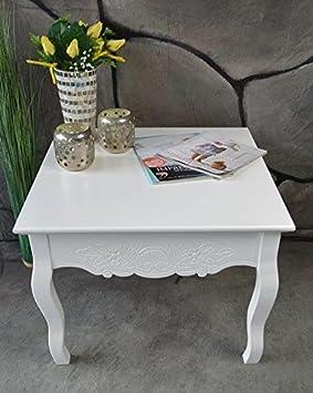 couchtisch beistelltisch tisch klein antik wei landhaus. Black Bedroom Furniture Sets. Home Design Ideas