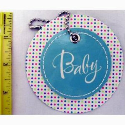 Ddi American Greetings Baby Circle Gift Tag With Chain(Pack Of 72) front-185193
