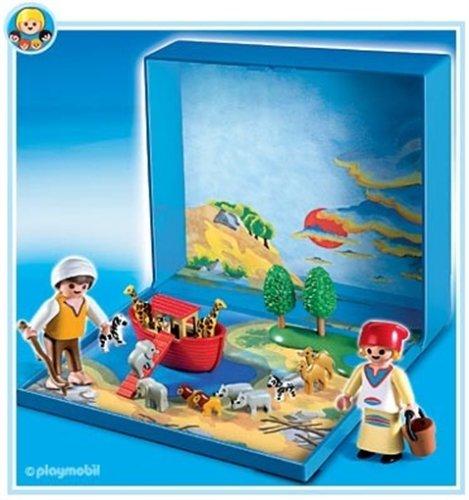 Playmobil 4332 micro playmobil micro arche de no for Micro playmobil