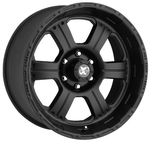Pro Comp Alloys Series 7089 Flat Black - 16 x 