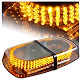 Amber Vehicle Car Truck Emergency Hazard Warning 240 LED Mini Bar Strobe Flash Light