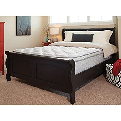 "Lippert Components 360174 60"" x 80"" x 9"" Euro Queen Mattress"