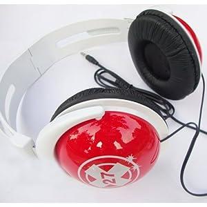 Headphone Over Ear with Anime Katekyo Hitman Reborn, RED