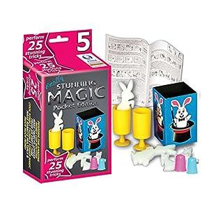 Hanky Panky Stunning Pocket Magic Collection with 25 Magic Tricks (Set 5)