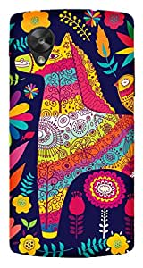TrilMil Printed Designer Mobile Case Back Cover For LG Google Nexus 5
