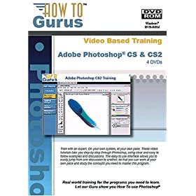 Complete Training for Adobe Photoshop CS2 and CS on 4 DVDs