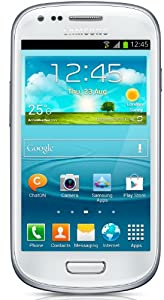 Samsung Galaxy S3 mini GT-I8190 Smartphone Android 4.1 GSM/HSPA+ 8Go Bluetooth Wifi Blanc céramique