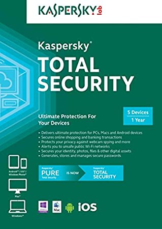 Kaspersky Total Security - 5 Devices [Download]