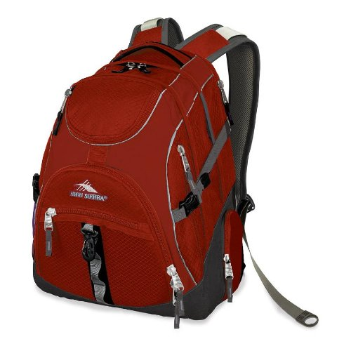 High Sierra Access Backpack, Pomodoro/Charcoal front-518014