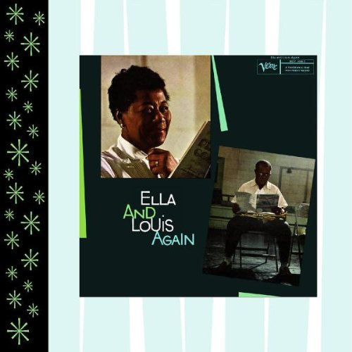 Original album cover of Ella and Louis Again by Ella Fitzgerald & Louis Armstrong