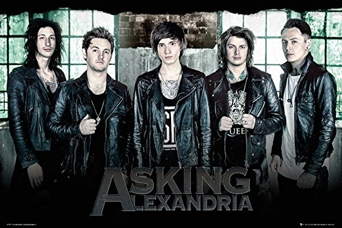 Poster Asking Alexandria Window + accessori Ü-Poster der Grösse 61x91,5 cm