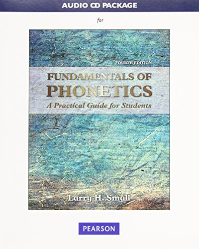 Audio CD Package for Fundamentals of Phonetics: A Practical Guide for Students