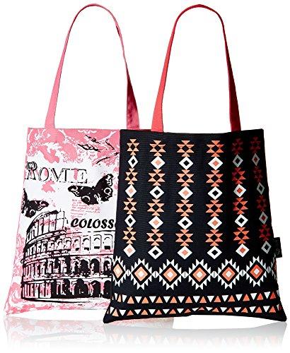 Kanvas-Katha-Womens-Combo-Tote-Bag-Multi-Colour-KKBSAMZAUG005-KKBSAMZAUG011