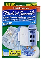 Fluidmaster 8100 Flush 'N' Sparkle Toilet Bowl Cleaning System