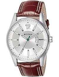 amazon in titan men watches titan octane analog silver dial men s watch ne9322sl03j