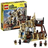 "Lego Year 2013 Movie Series "" The Lone Ranger"" Battle Scene Set #79110 Silver Mine Shootout With Falling Skull..."