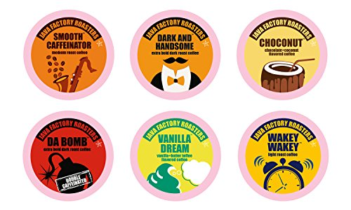 Java Factory Variety Pack Single-cup Coffee for Keurig K-Cup Brewers, 80 Count (K Cup Coffee 80 Count compare prices)