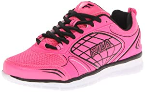 Fila Women's Kailana Running Shoe,Pink/Black/White,8.5 M US