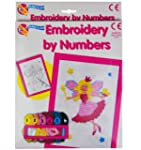 Embroidery by Numbers Cross Stitch Se...