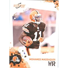 Mohamed Massaquoi - Cleveland Browns - 2010 Score Football Card - NFL Trading Card in...