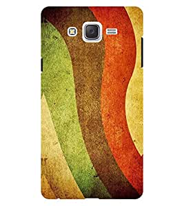 Chiraiyaa Designer Printed Premium Back Cover Case for Samsung Galaxy On7 (swirls pattern colorful) (Multicolor)