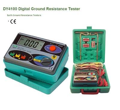 DUOYI DY4100 Digital Earth Ground Resistance Tester Multimeter Resistance Measurer