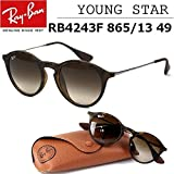 【レイバン国内正規品販売認定店】RB4243F 865/13 49サイズ Ray-Ban (レイバン) サングラス 丸メガネ フルフィッティングモデル メンズ レディース