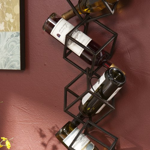 SEI Marco Wall Mounted Wine Rack